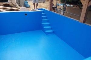 Bazén schody
