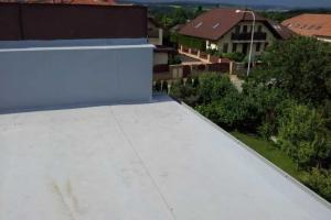 Střecha-detail ukončení atiky