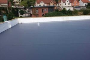 Střecha-detail spádové klíny